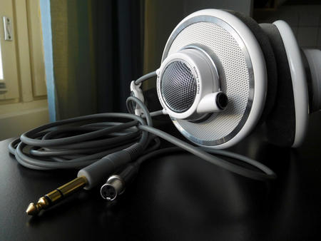 AKG K701 with a detachable cable